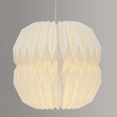 Slim Geometric Paper Lampshade